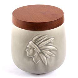 Tobak Søholm Denmark Indian Chief Tobacco Jar