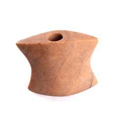 Bannerstone Quartz Hourglass Artifact ca. 1200 BC