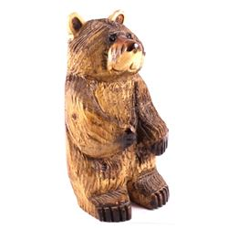 Montana Chainsaw Carved Bear