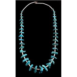 Navajo Turquoise Nugget & Heishi Necklace