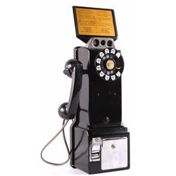 Northern Electric 3 Slot Pay Phone 223H ca. 1950's
