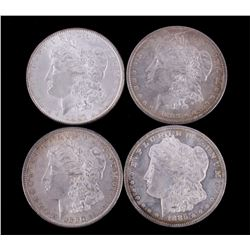 Morgan Silver Dollar Collection Near Mint (4)