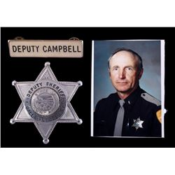 Gallatin County Deputy Sheriff Campbell Badge Set