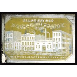 Allan Hay & Co. Cameo Business Card, ca.1860-70's