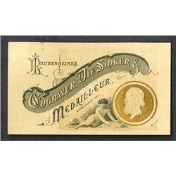 R. Laubenheimer Business Card, ca.1870-90's