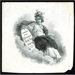 Continental Bank Note Company Business Card, ca. 1880-90's
