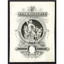 Advertising for C.T. Raynolds & Co., ca.1870-90's