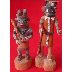 Two Hopi Miniature Kachinas