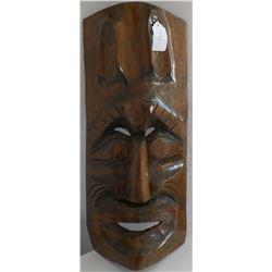 Hawaiian Wood Mask
