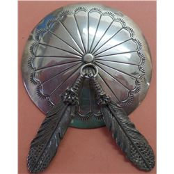 Sterling Silver concho pin