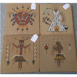 Four Sand Paintings