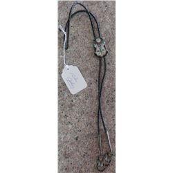 1940s Zuni Stone-to-Stone Bolo Tie