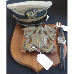 U.S. Navy Officers Items from WWII