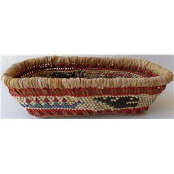 Basket from Makah, Washington.