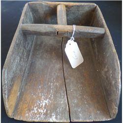 Antique American Colonial Grain Scoop