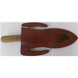 Indian Trade Knife and Sheath