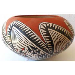 Mata Ortiz Pottery Bowl