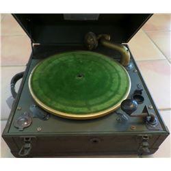 U.S. Army Mechanical Phonograph.