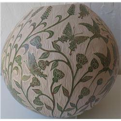 Mata Ortiz Fine Carved Pottery Item