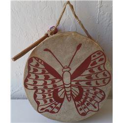 Tarahumara Drum and Beater