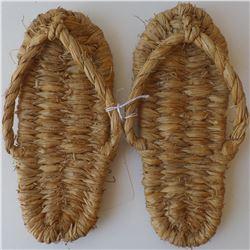 Pair of Fiber Sandals