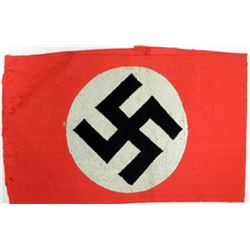 NSDAP-NAZI PARTY ARMBAND-ORIGINAL W/RZM TAG
