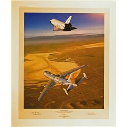 Aviation Art Free Enterprise Machat Shuttle 747