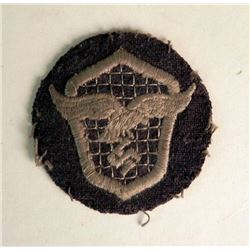 NAZI LUFTWAFFE  MOTOR VEHICLE DRIVER SLEEVE PATCH-ORIG