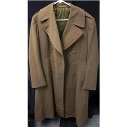 WWII US Army Greatcoat European Theater
