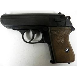 WAFFEN SS MODEL PPK BY MGC--EAGLE+SWASTIKA GRIPS