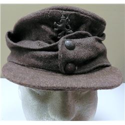 WWII German Pattern M43 Hat Bulgarian Tank Crew