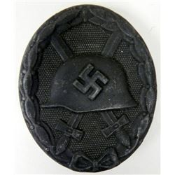 NAZI BLACK WOUND BADGE-MINT-ORIGINAL-MKR:ESP