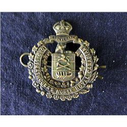 """REGIMENTAL CANADIAN BADGE """"LORD STRATHCONA'S HORSE"""