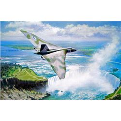 Aviation Art Lone Ranger John Young L/E Vulcan