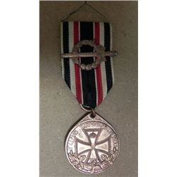 WWI HONORARY MEDAL GERMAN LEGION OF HONOUR IRON CROSS