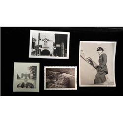4 NAZI GERMANY BRITISH SOLDIER'S PICS OF EAGLE SWASTIKA