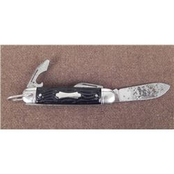 VINTAGE COLONIAL 3 BLADE FOLD KNIFE-FOREST MASTER MODEL