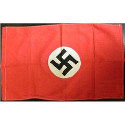 "NAZI PARTY FLAG-ORIGINAL BRINGBACK-DOUBLE SIDED-13X22"""