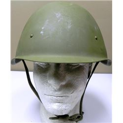 Original Russian WWII M1940 Helmet with Liner Chinstrap