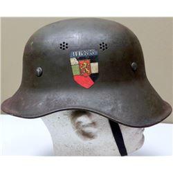 Original WWII German Helmet Gladiator w/Liner Chinstrap
