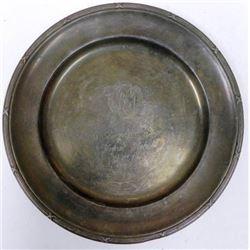 Nazi SS Award Plate - Marked RZM