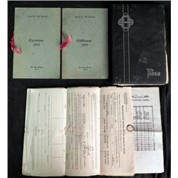 1927 LOT FOR US ARMY TROOP F-14TH CAVALRY-INC SCRAPBOOK