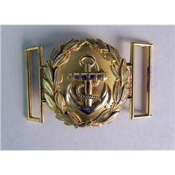 Kriegsmarine (Navy) Metal Buckle Repro?