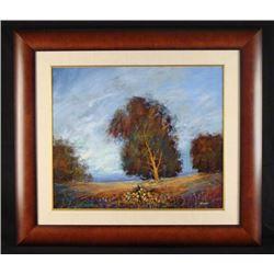Tienhaara Original Landscape Oil Painting Summer Glow
