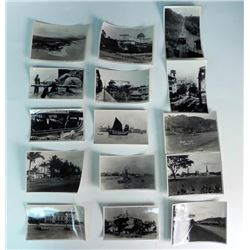 15 WWII PACIFIC THEATER ORIG PHOTOS - LARGE FORMAT
