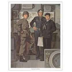 Tom McNeely Military Art Print Canadian Armed Forces