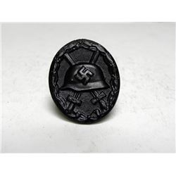 NAZI BLACK WOUND BADGE-ORIG-MARKED L/14
