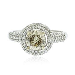 14KT White Gold 1.65 ctw Diamond Ring