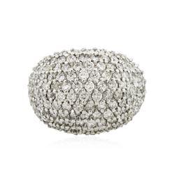 14KT White Gold 4.23 ctw Diamond Ring