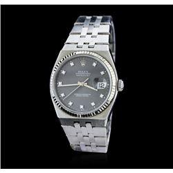 Gents Rolex Stainless Steel OysterQuartz DateJust Wristwatch
